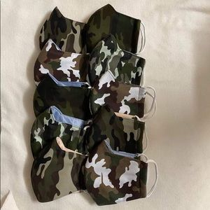 Total 10 masks for the listing adult and